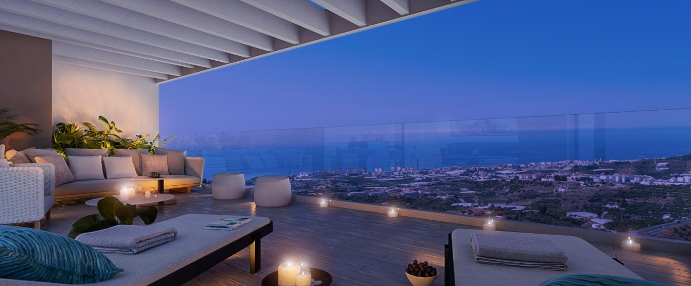 Una propuesta única en la Costa del Sol, pisos en venta en Torrox.