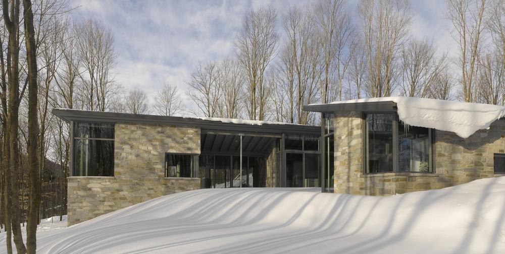 Casa Bromont_Arquitectura_Canadá