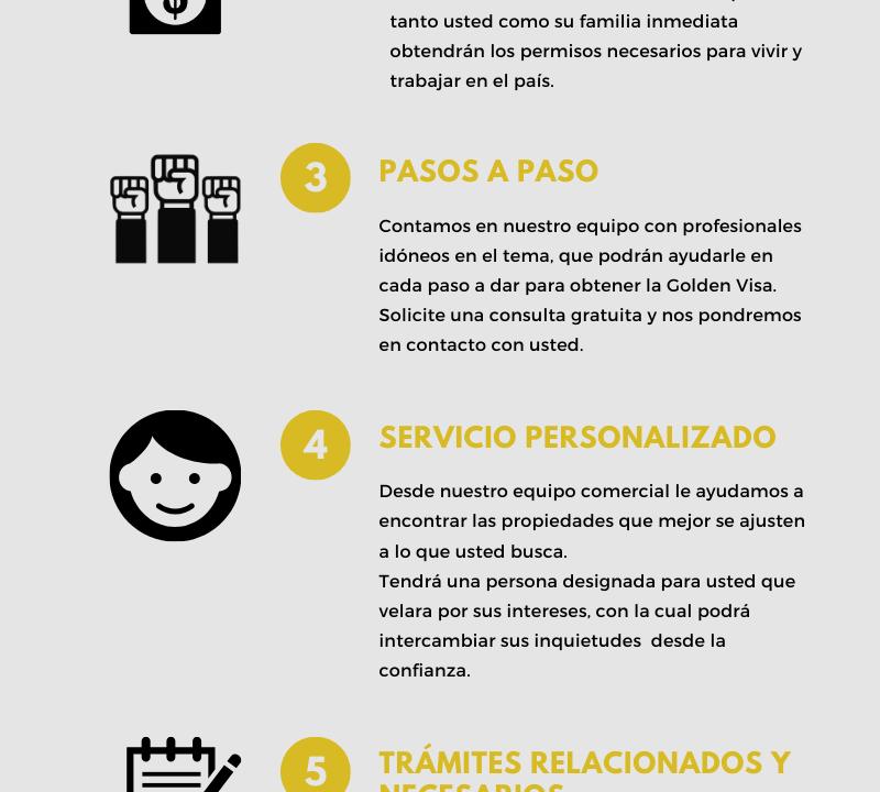 Golden visa España F&A